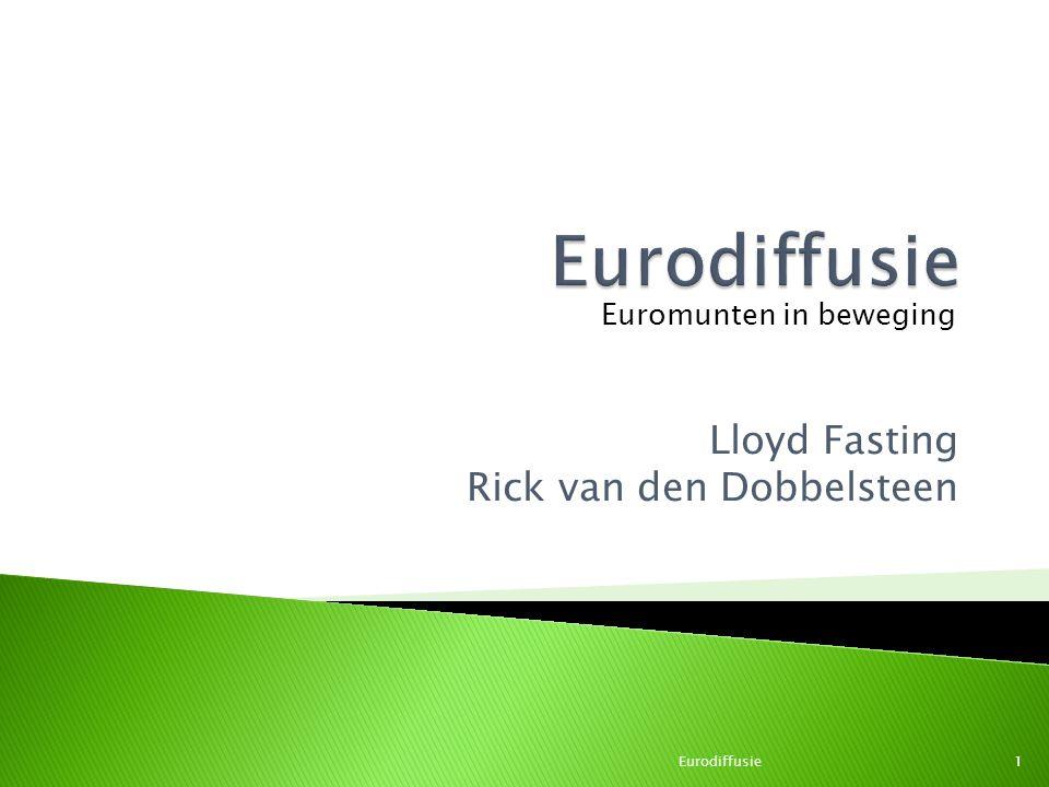 Lloyd Fasting Rick van den Dobbelsteen Eurodiffusie1 Euromunten in beweging