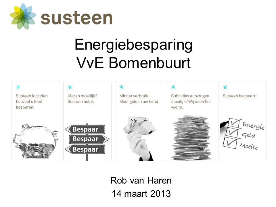Energiebesparing VvE Bomenbuurt Rob van Haren 14 maart 2013