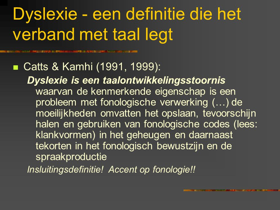 Utrecht institute of Linguistics OTS Trans 10, 3512 JK Utrecht dyslexie@let.uu.nl www.let.uu.nl/~dyslexie