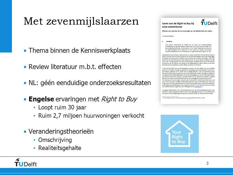 3 Met zevenmijlslaarzen Thema binnen de Kenniswerkplaats Review literatuur m.b.t.
