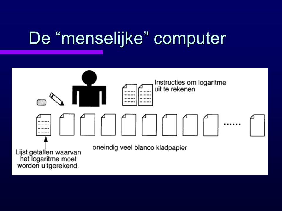 De menselijke computer