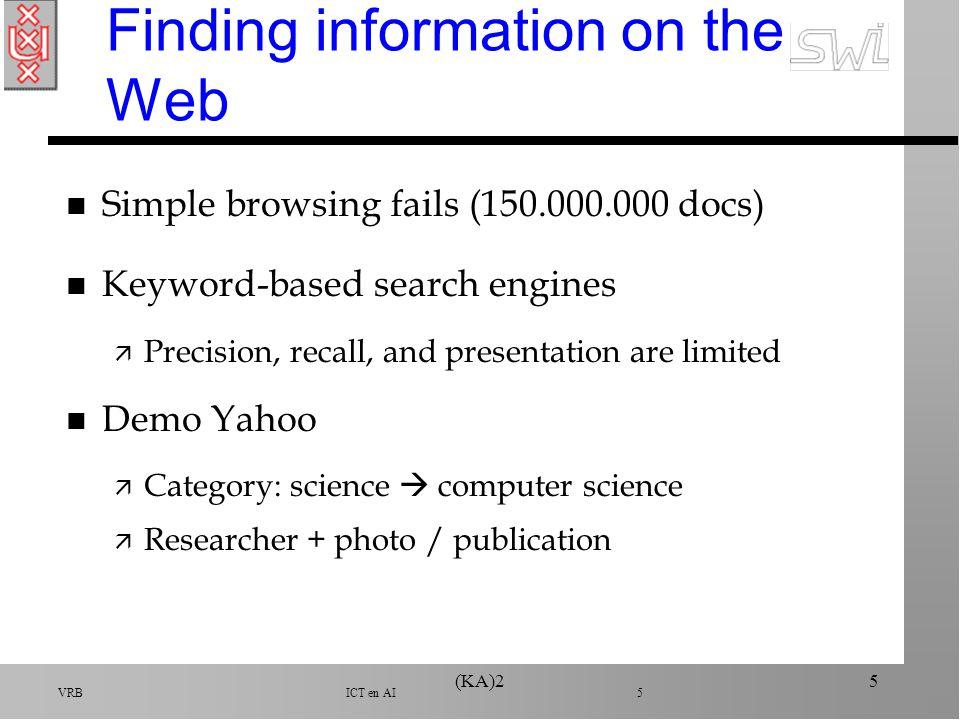 VRB ICT en AI 6 (KA)26 Keyword-based search