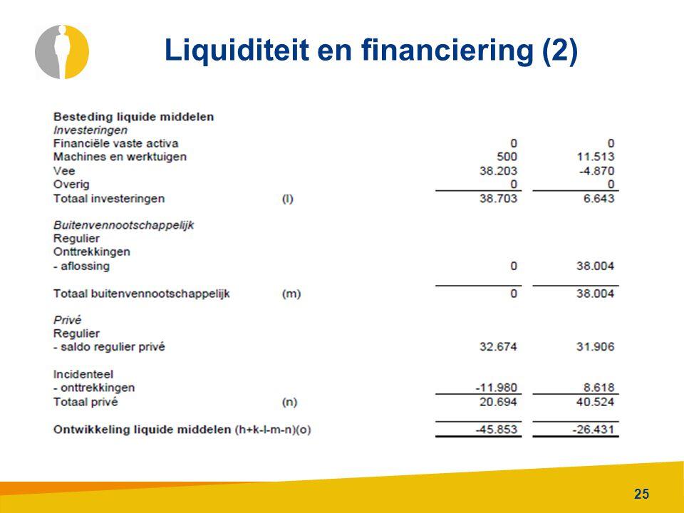 25 Liquiditeit en financiering (2)
