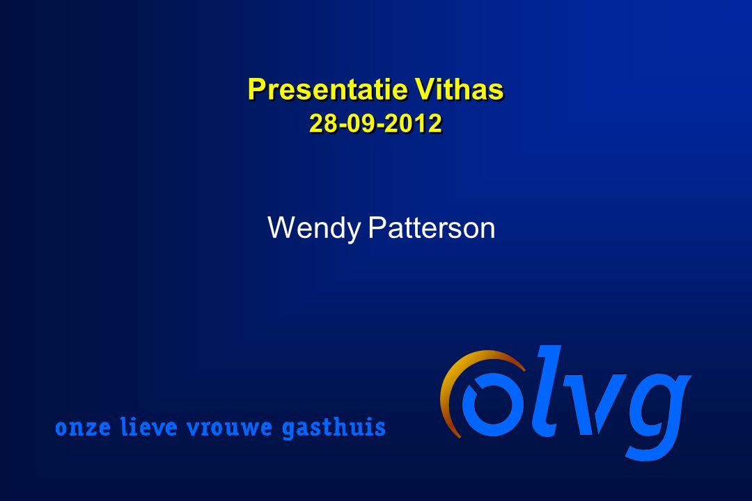 Presentatie Vithas 28-09-2012 Wendy Patterson