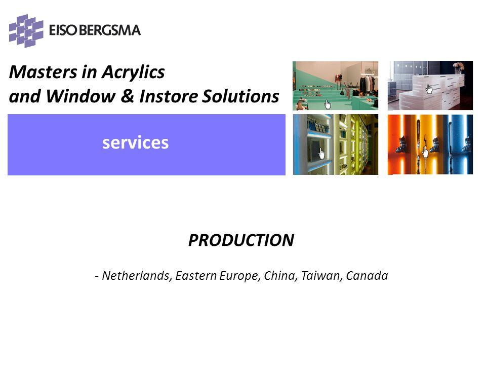 Programma ReRe Group & Eiso Bergsma (rh) Eiso Bergsma 30 jaar (eb) Kunststof & Productie (rb) Design & CNC bewerkingen (lb) Vragen Hand-On (pm/lb) Vragen Afsluiting & Borrel PRESENTATIE 28-05-2008 – ICN & SBMK Eiso Bergsma BV, Producten van Plexiglas