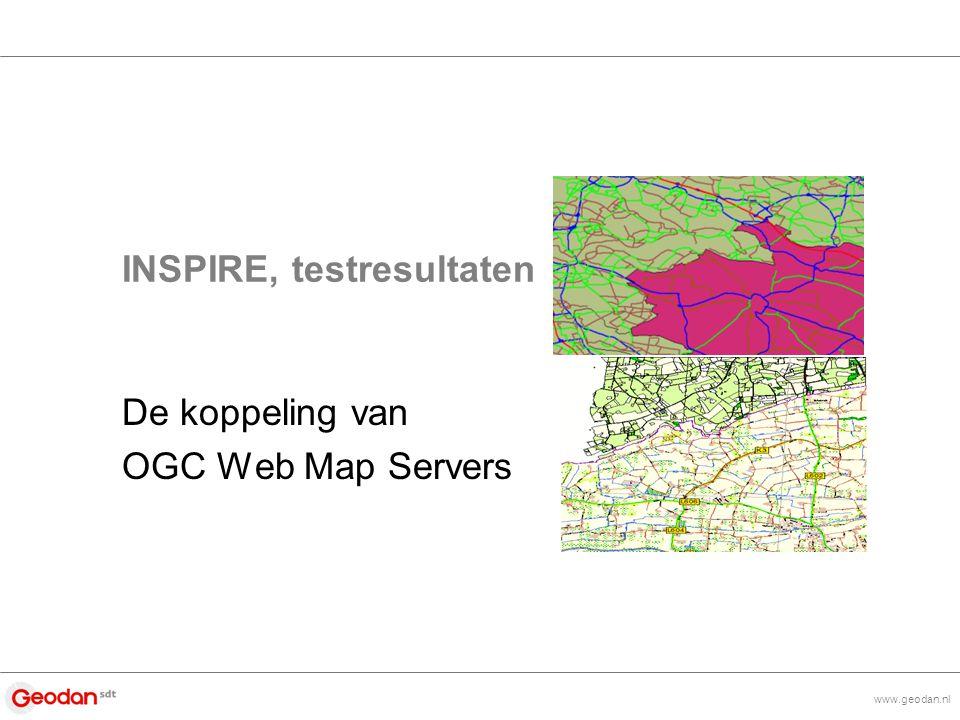 www.geodan.nl Inhoud > OGC Web Mapping introductie > De INSPIRE pilot > Vervolg – Interreg