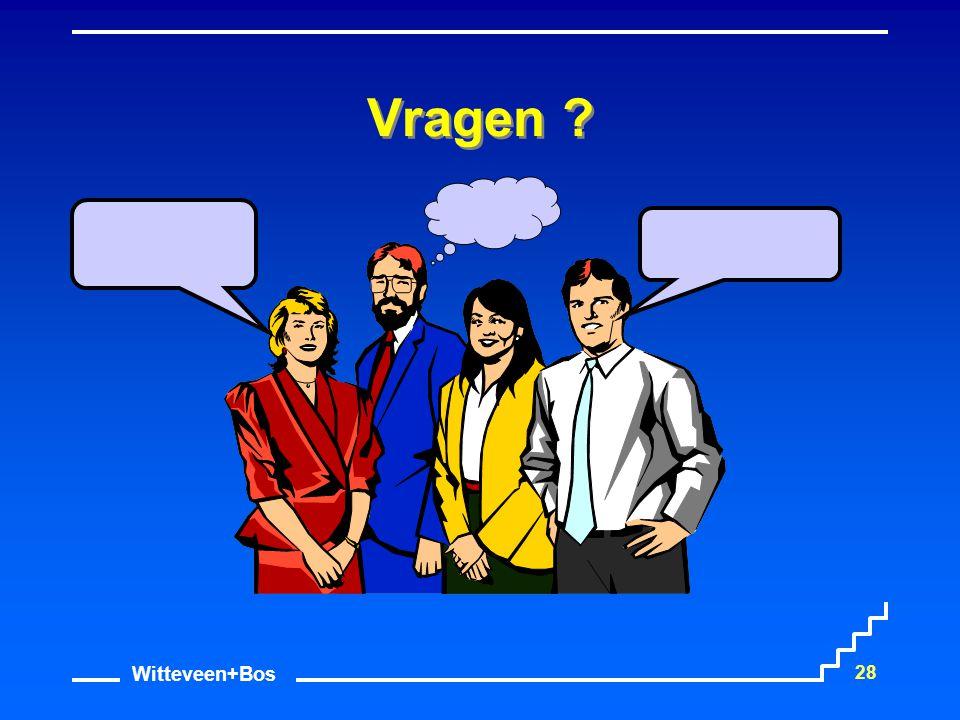 Witteveen+Bos 28 Vragen ?
