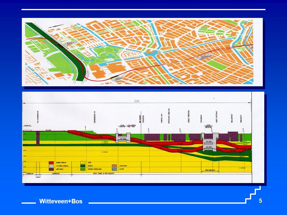 Witteveen+Bos 16 GIS Inzet Koppeling geotechnische modellen Geotechnisch Lengte profiel Risico voorspelling Vergroten inzicht Volume berekening Monitoring IBBS