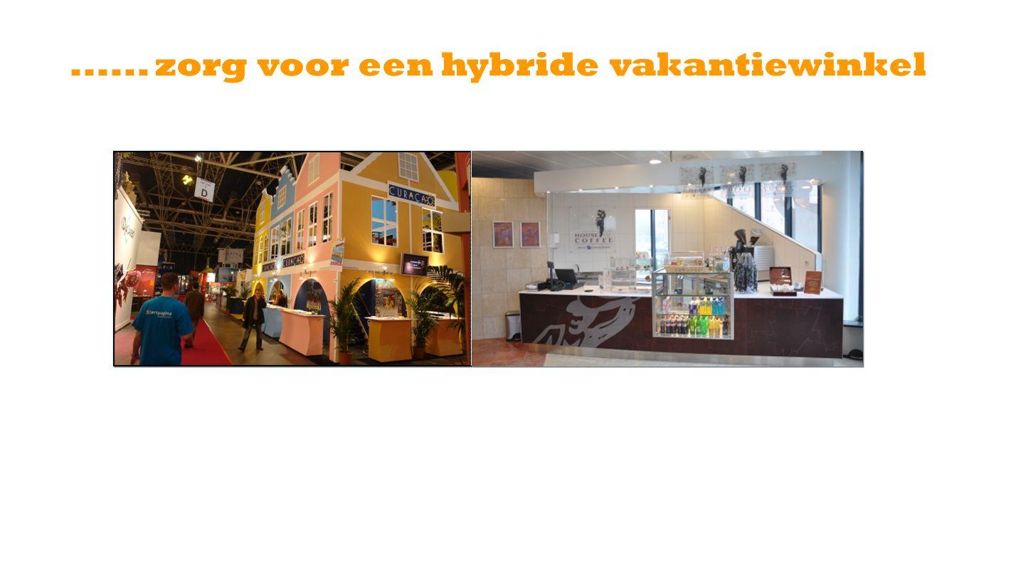 ...... zorg voor een hybride vakantiewinkel