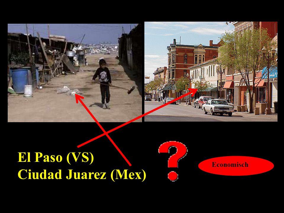 El Paso (VS) Ciudad Juarez (Mex) Economisch