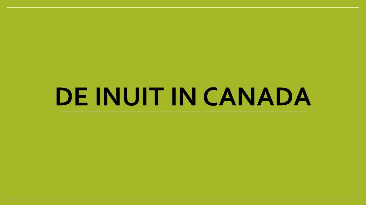 DE INUIT IN CANADA