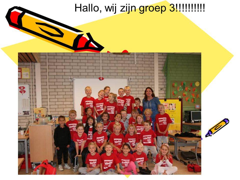 Hallo, wij zijn groep 3!!!!!!!!!!
