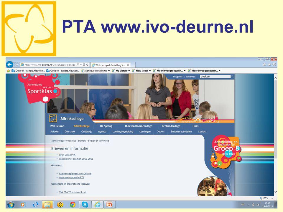 PTA www.ivo-deurne.nl