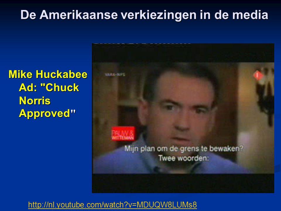 De Amerikaanse verkiezingen in de media Mike Huckabee Ad: