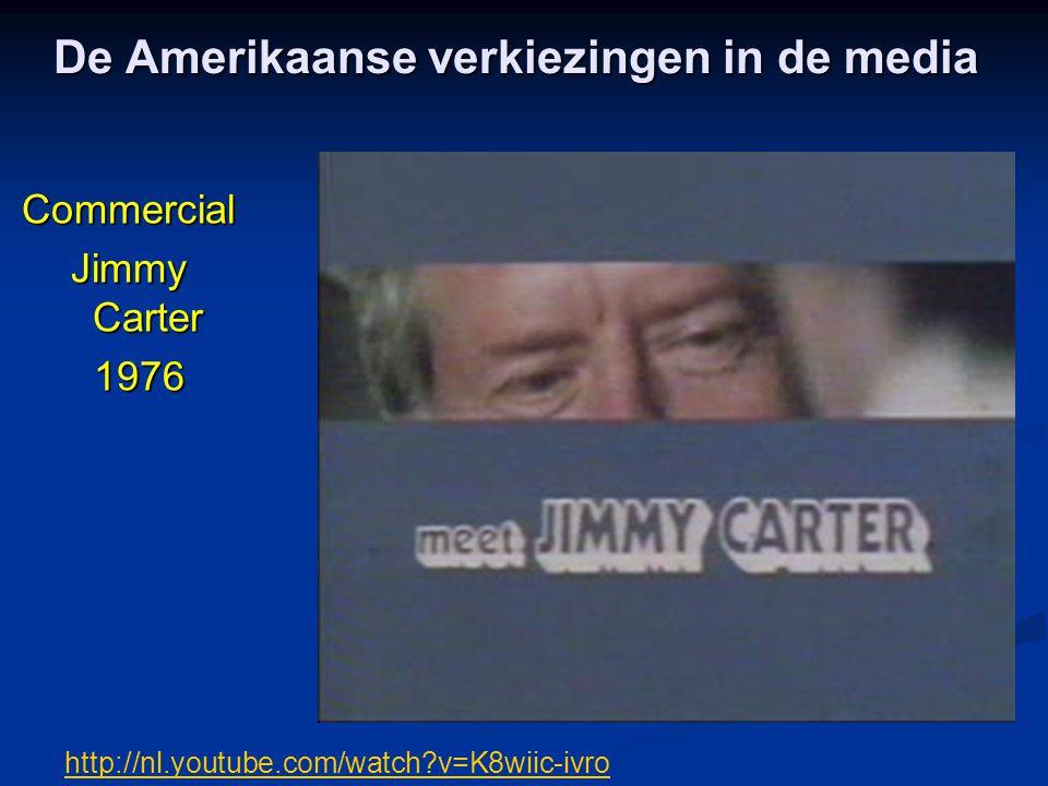 De Amerikaanse verkiezingen in de media Commercial Jimmy Carter 1976 1976 http://nl.youtube.com/watch?v=K8wiic-ivro