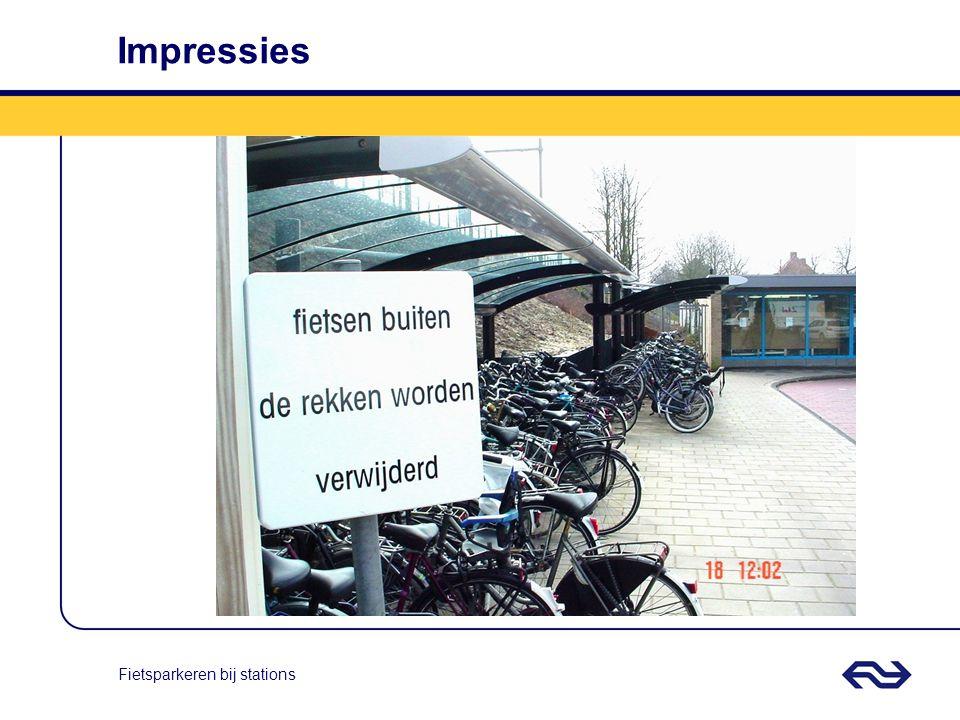 Fietsparkeren bij stations Impressies