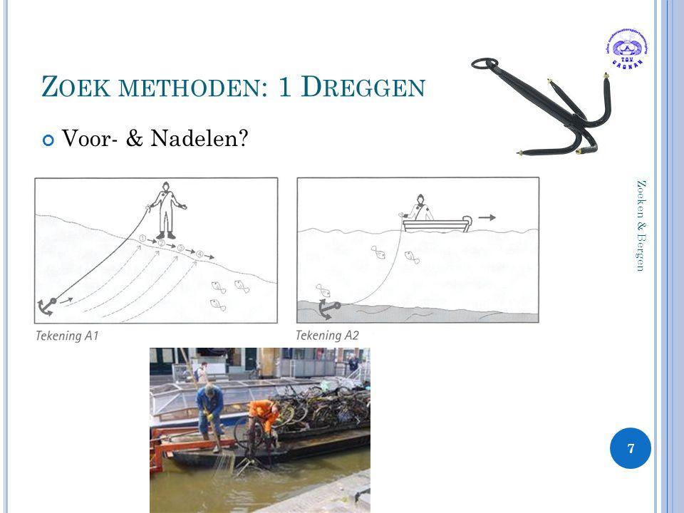 Z OEK METHODEN : 1 D REGGEN Voor- & Nadelen? 7 Zoeken & Bergen