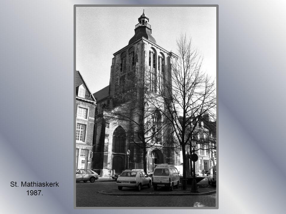 Luchtfoto St. Lambertuskerk 1924.