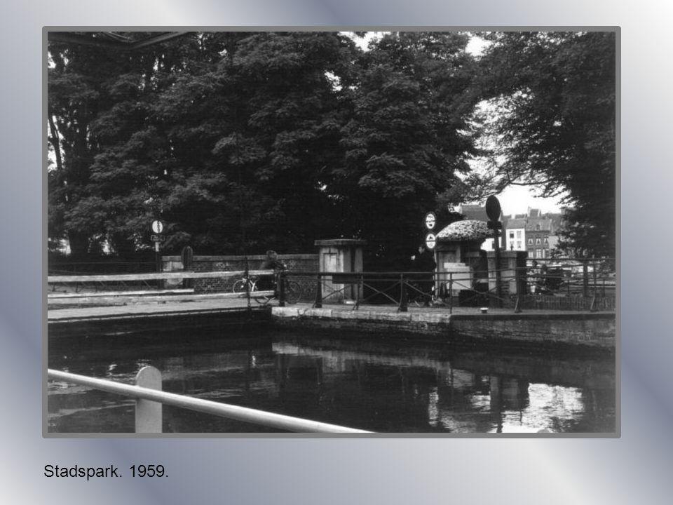 Stadspark met jeker. 1930.
