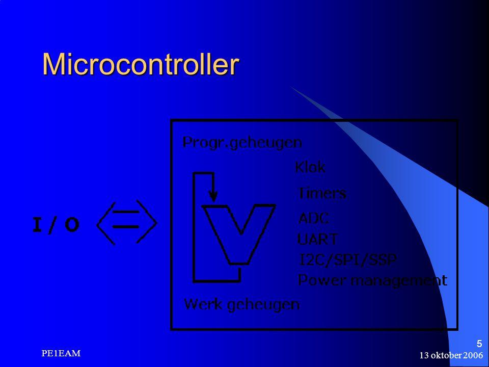 13 oktober 2006 PE1EAM 36 Voorbeeldprojecten fietshellingmeter klapschakelaar nixieklok frequentiecounter voor de AntAn meetzender met DDS en cleanup-oscillator à la PAoKSB IR-afstandsbestuurd robotje met stappenmotoren gedichtengenerator capaciteits- en ESR-meter (Elektuur sept 2005) semiconductoranalyzer (Elektuur april 2005).