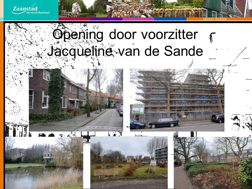 Ruimtelijke ontwikkeling wethouder Piet Keijzer Waarom gebeurt er momenteel zoveel in uw wijk.