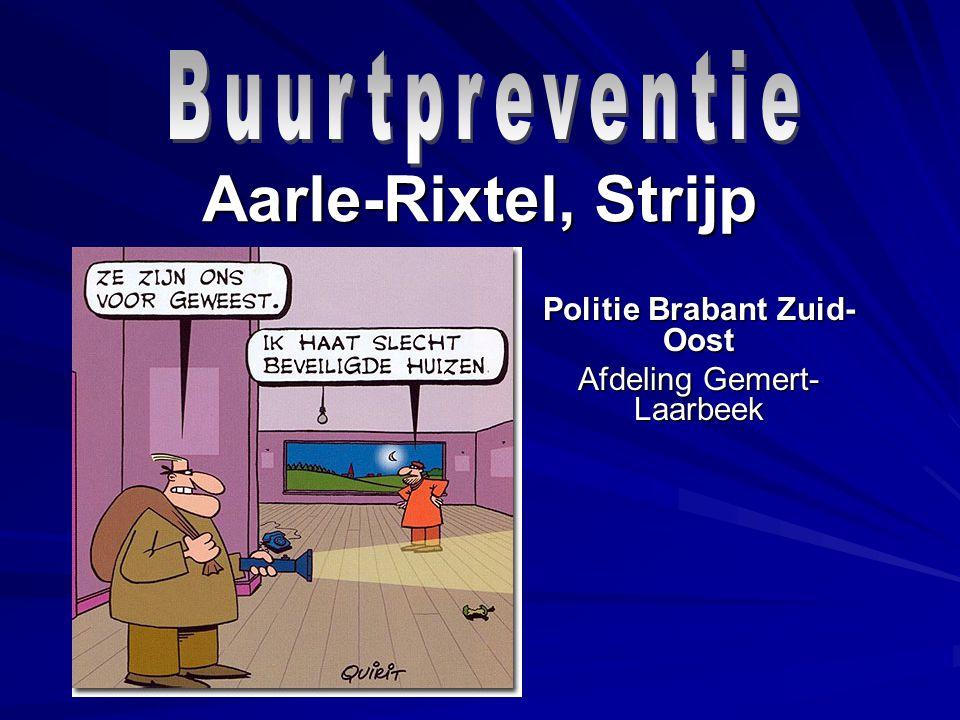 Aarle-Rixtel, Strijp Politie Brabant Zuid- Oost Afdeling Gemert- Laarbeek