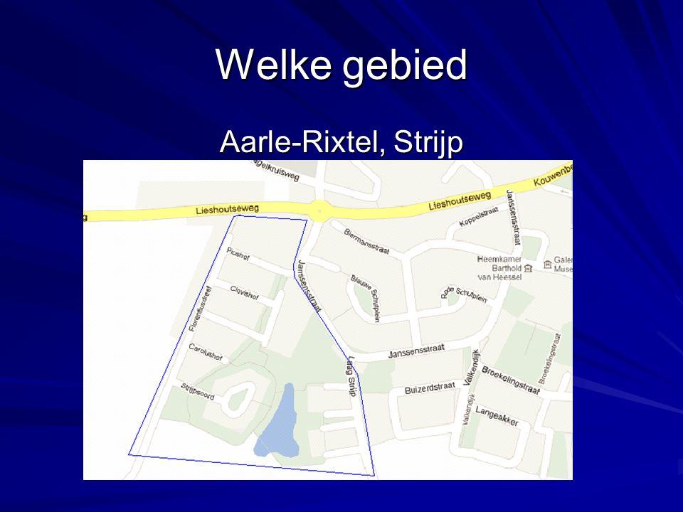 Welke gebied Aarle-Rixtel, Strijp Aarle-Rixtel, Strijp