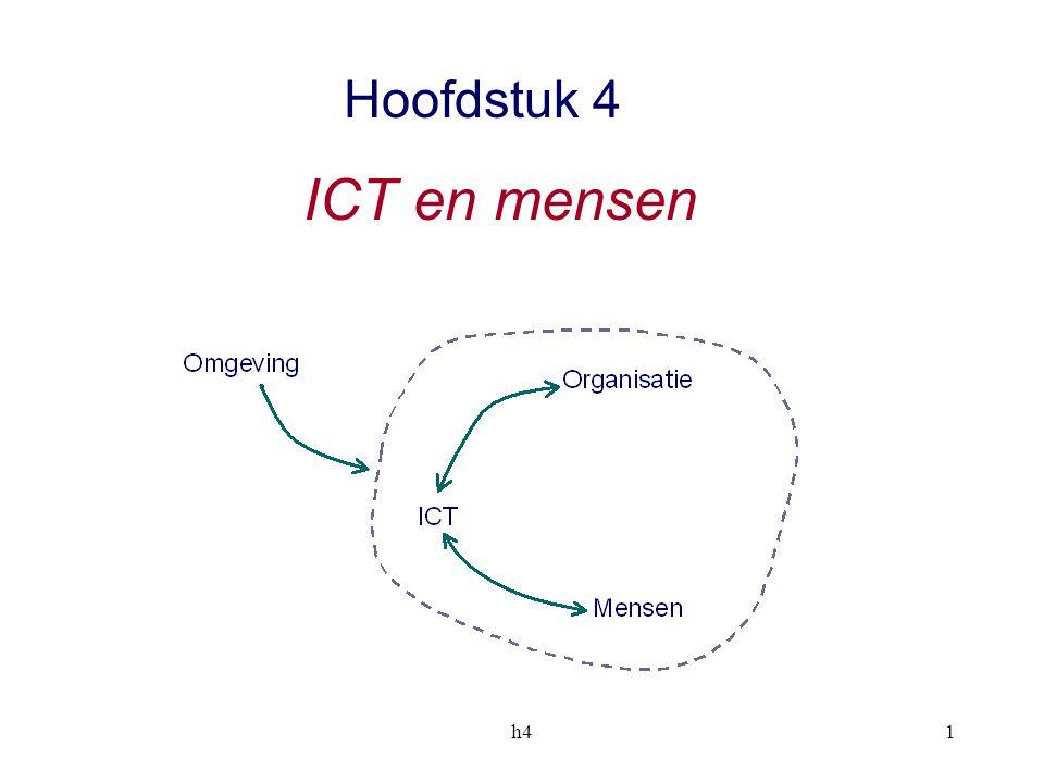 h41 Hoofdstuk 4 ICT en mensen