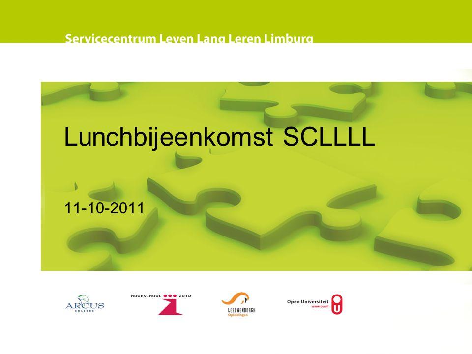 Lunchbijeenkomst SCLLLL 11-10-2011