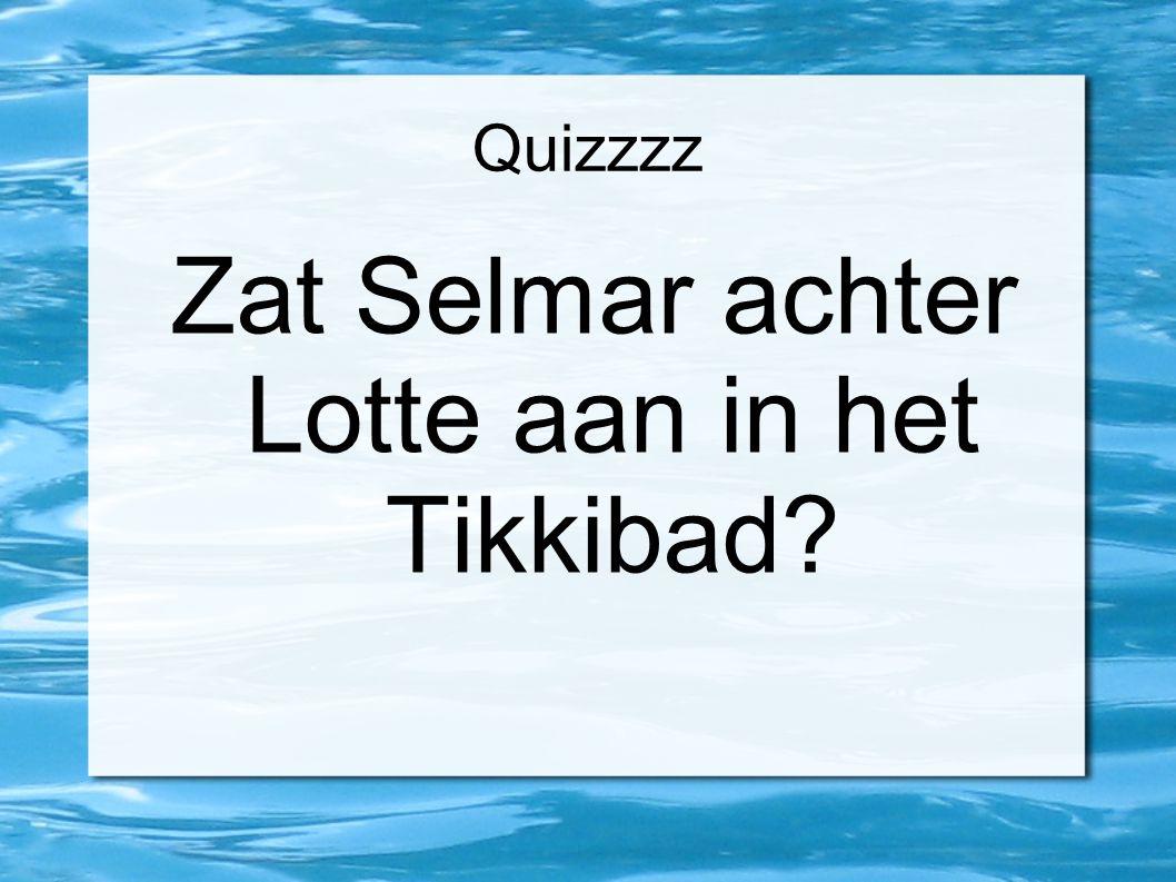 Quizzzz Wat droeg Selmar in de introweek?