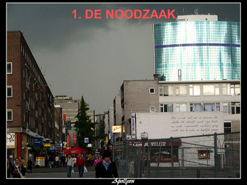 1. DE NOODZAAK Zwak sociaal-economisch profiel Stadsregio
