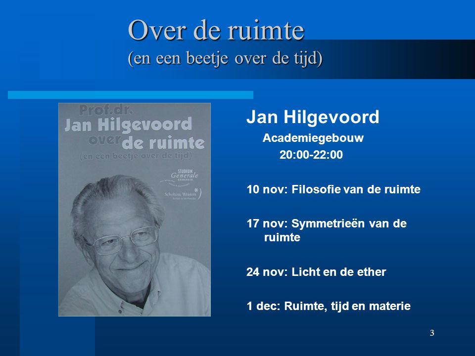 2 Ruimtetijd Natuur van het licht Relatieve snelheid Tweelingparadox Natuur van de ruimtetijd http://www-th.phys.rug.nl/~atkinson
