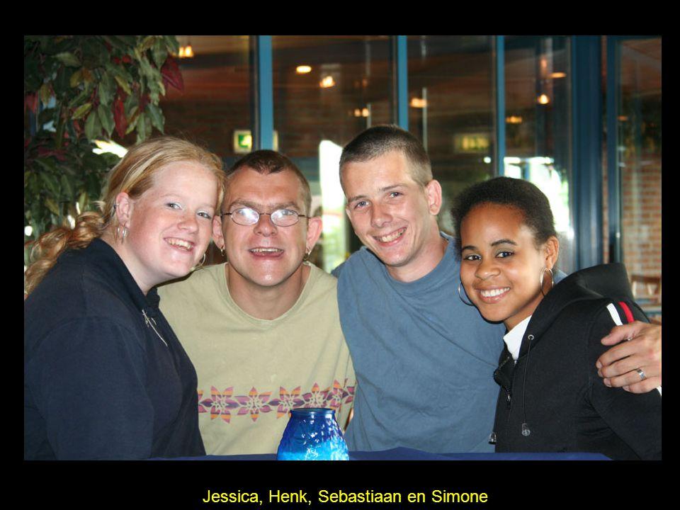 Jessica, Henk, Sebastiaan en Simone