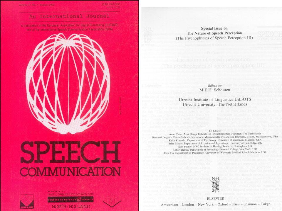Modellen van woordherkenning 1.Logogen model (Morton, 1969) 2.Cohort model (Marslen-Wilson en Welsh, 1978) 3.TRACE (Elman en McClelland, 1985) 4.Short