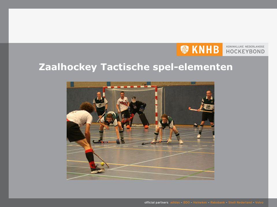 Zaalhockey Tactische spel-elementen