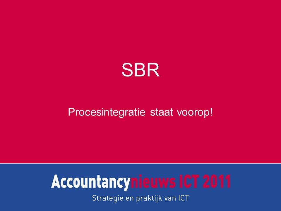 SBR Procesintegratie staat voorop!