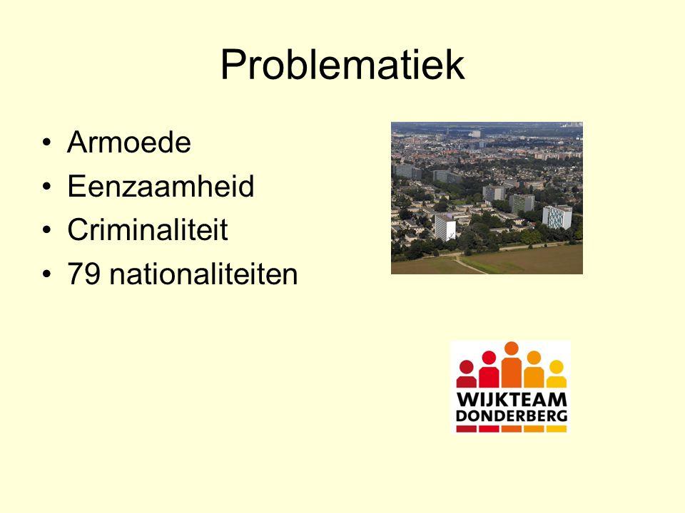 Problematiek Armoede Eenzaamheid Criminaliteit 79 nationaliteiten