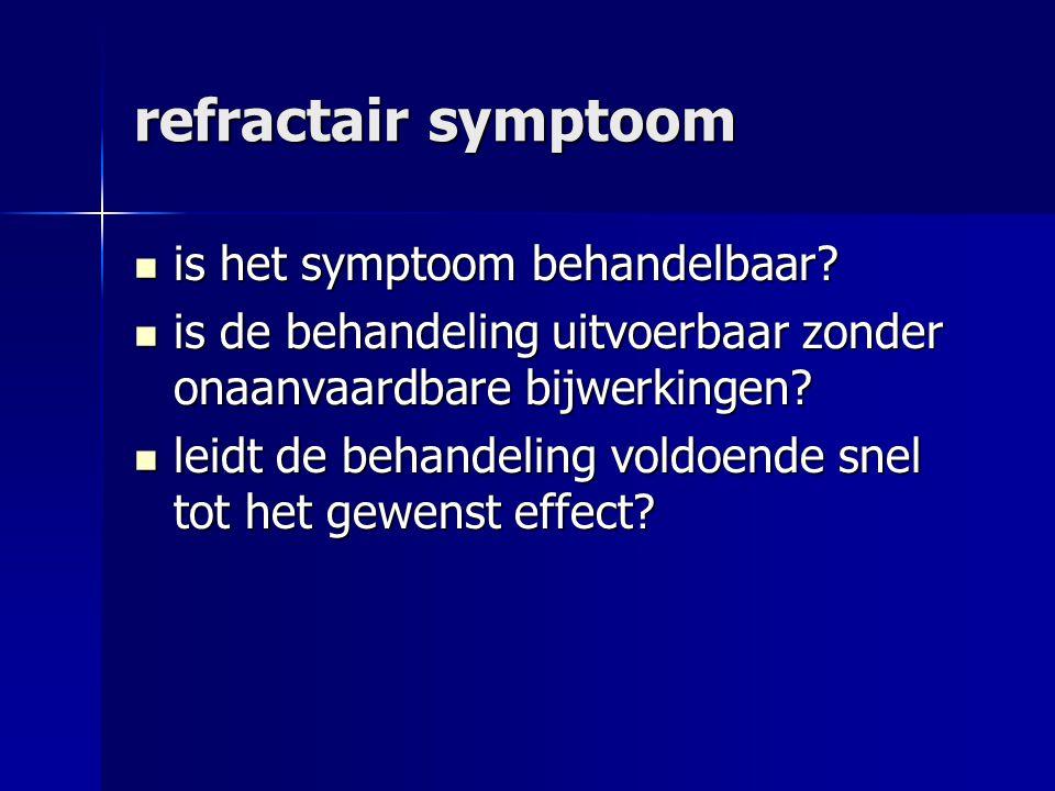 refractair symptoom is het symptoom behandelbaar.is het symptoom behandelbaar.