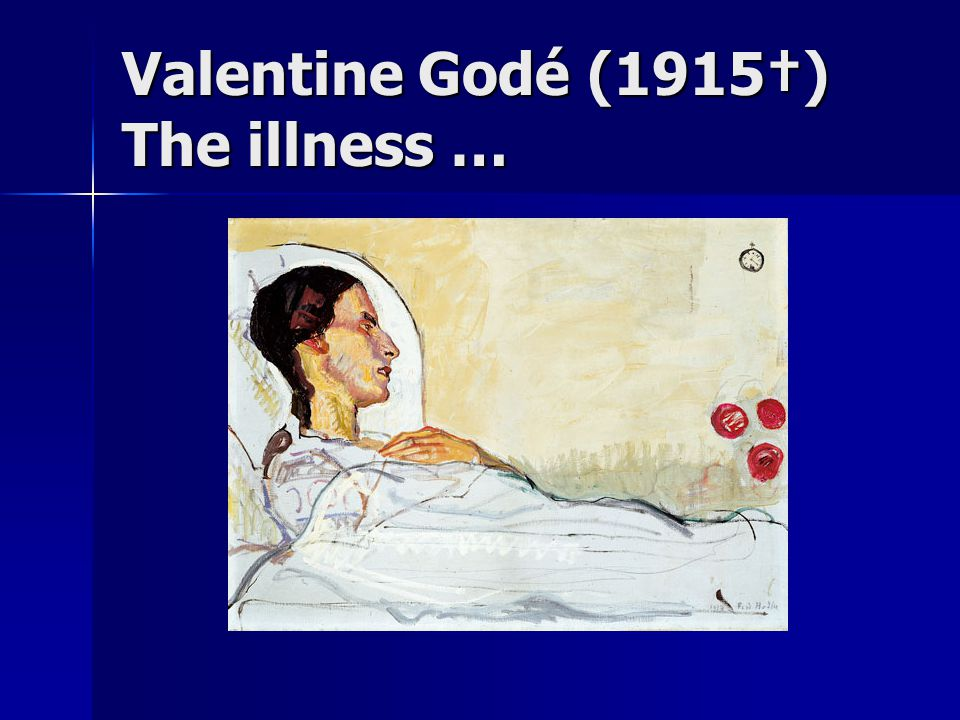 Valentine Godé (1915†) The exhaustion …
