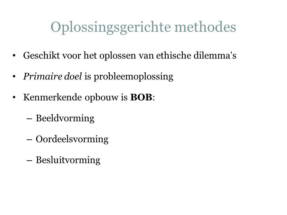 Voorbeeld van oplossingsgerichte methodes Utrechtse Stappenplan – Verkenning welke vragen roept deze casus op.