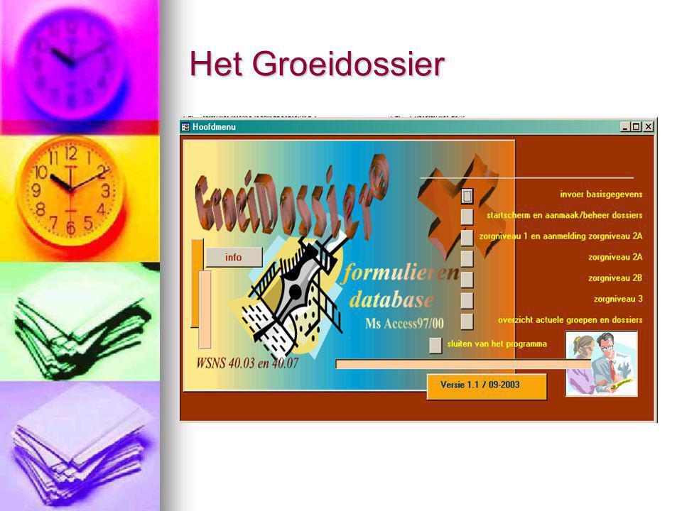 Het Groeidossier