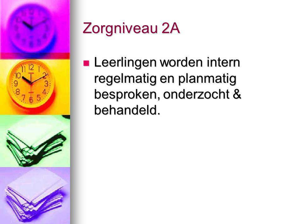 Zorgniveau 2A, kenmerken Start dossiervorming: Groeidossier_Ikra in Access / kopieermap.