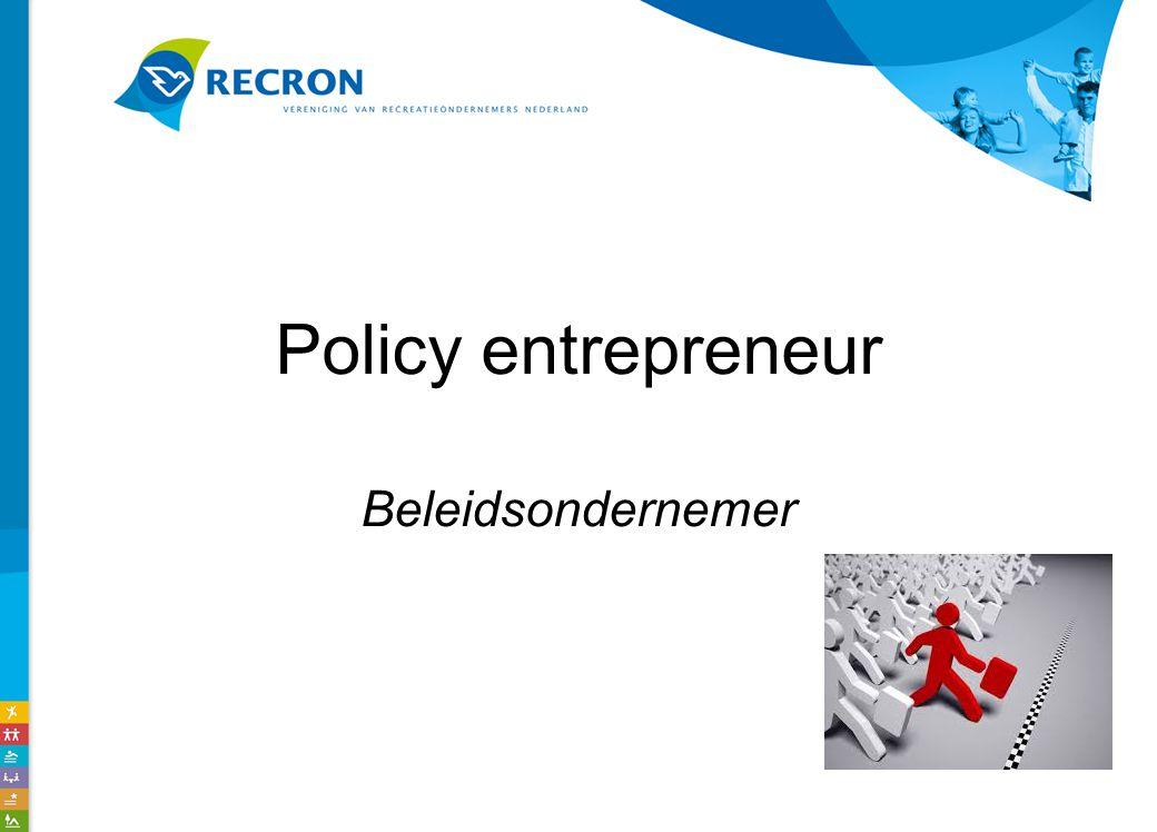 Policy entrepreneur Beleidsondernemer