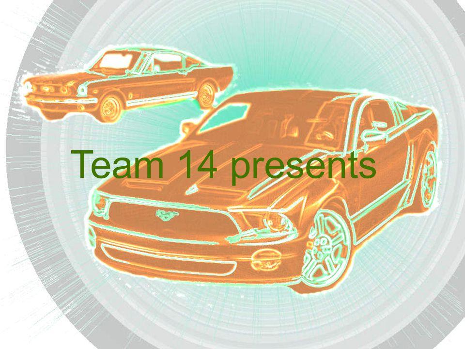 Team 14 presents