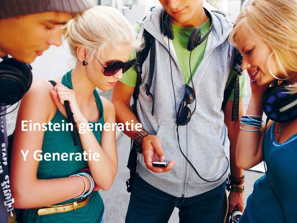 Einstein generatie Y Generatie