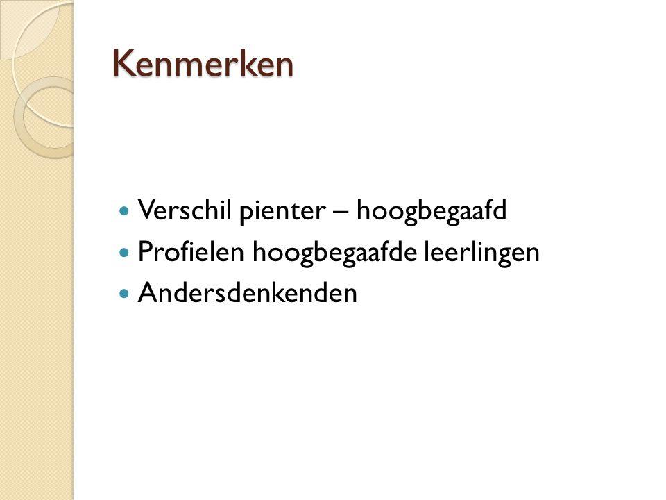 DE HOOGBEGAAFDE LEERLING bron: Heleen Wientjes IVLOS Universiteit Utrecht denkt onderzoeksgericht denkt autonoom denkt conceptueel (geheel  deel) denkt snel brede interesse onthoudt makkelijk denkt door intelligente humor denkt buiten kaders creatief Eigenwijs denkt en … denkt en … denkt en … denkt en … denkt en … denkt en … denkt en … denkt en … denkt en … denkt en … denkt en … denkt en … denkt en … denkt en … denkt en … denkt en … denkt en … denkt en … denkt en … De hoogbegaafde leerling denkt en … denkt en … denkt en …