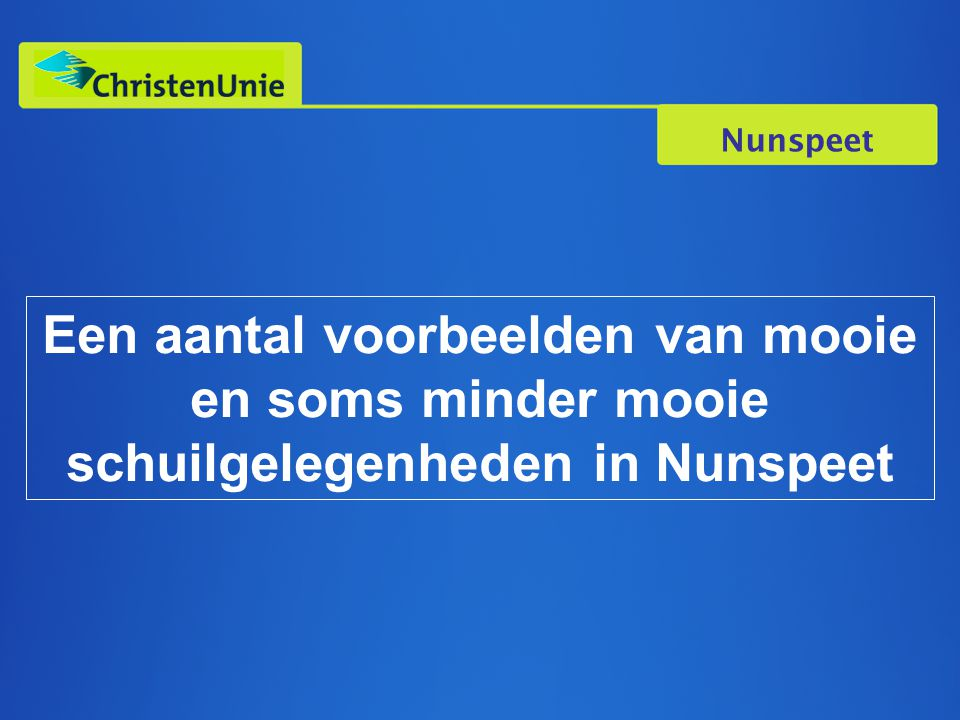 Nunspeet Een aantal voorbeelden van mooie en soms minder mooie schuilgelegenheden in Nunspeet