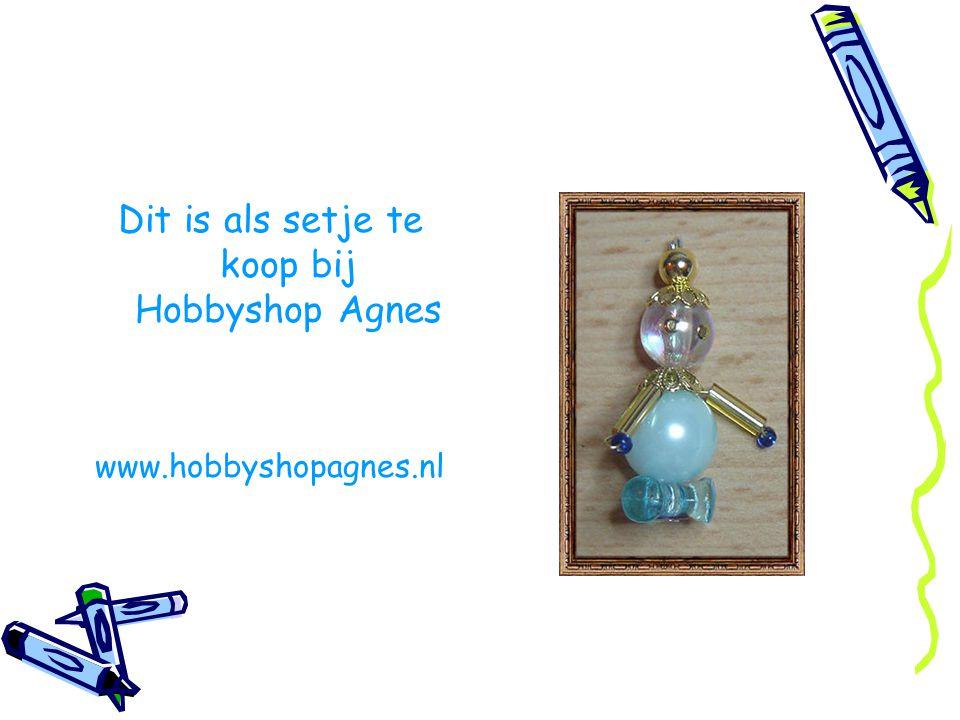 Dit is als setje te koop bij Hobbyshop Agnes www.hobbyshopagnes.nl