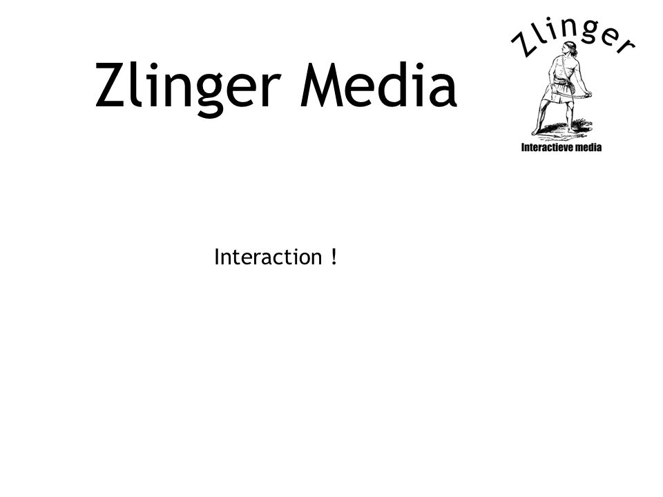 Zlinger Media Interaction !