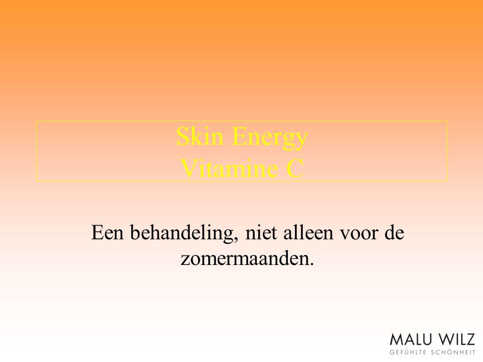 Skin Energy Vitamine C Een behandeling, niet alleen voor de zomermaanden.